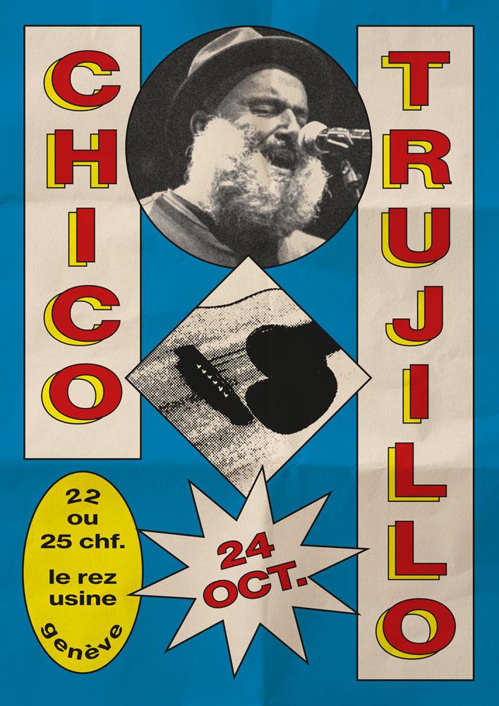 Concert Chico Trujillo Le Rez-Usine Genève