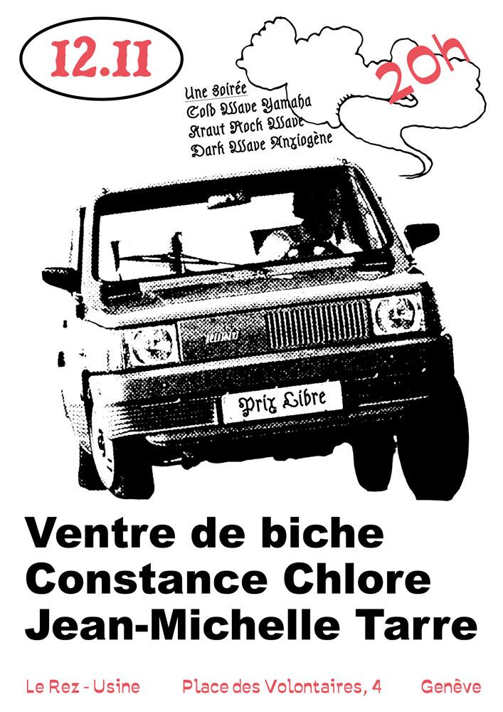 Concert Ventre de Biche Le Rez-Usine Genève