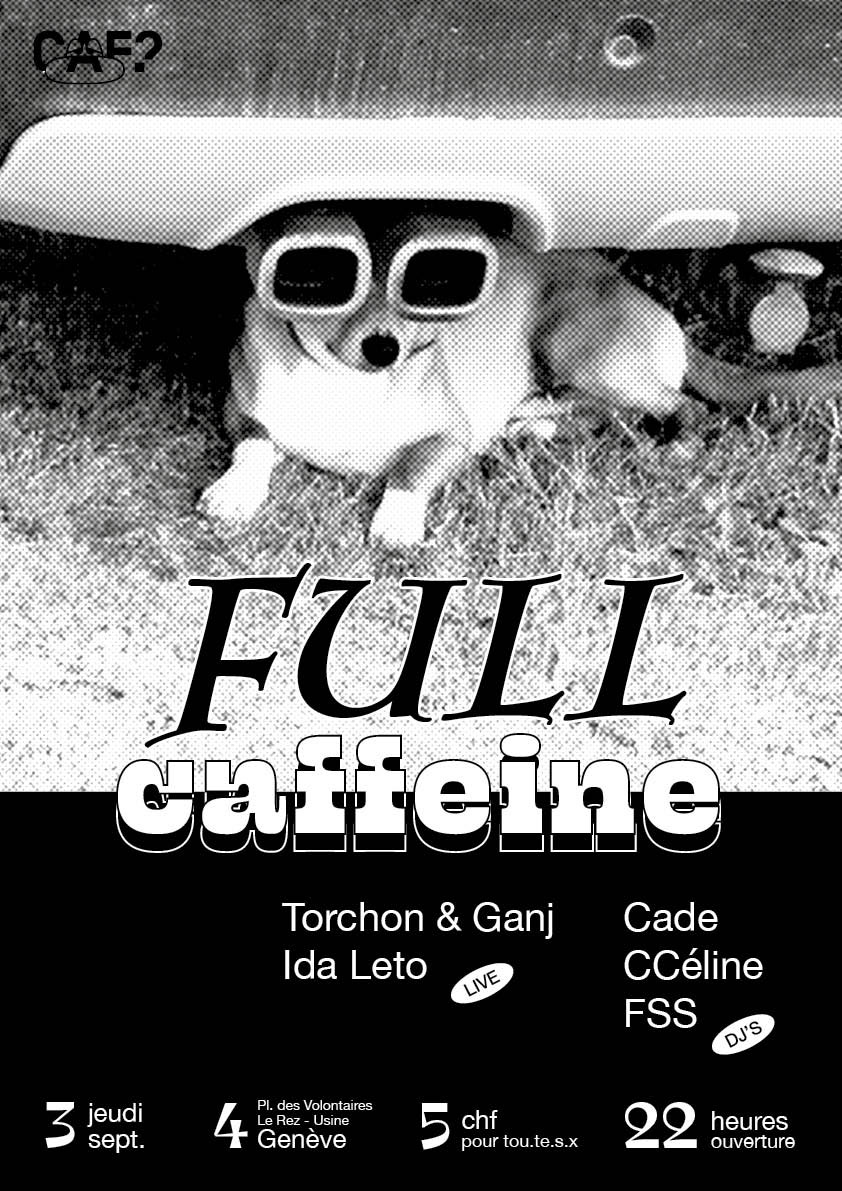 Full Caffeine, concert label CAF?